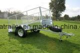 8 X de Enige Aanhangwagen van Asbus 5 met Helling