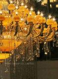 Кристалл Phine сумасбродный & светильник нефрита привесной/канделябр для виллы или гостиницы