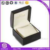 贅沢なリボンの革Veletの木のペーパー宝石箱