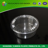 Round Disposable plastic Food Storage Packing containers with Hinged member