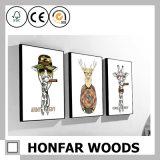 Het Amerikaanse Dierlijke Decoratieve Schilderen van de Stijl in Houten Frame