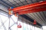 Pont roulant de double poutre avec l'encavateur