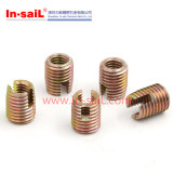 ISO OEMカラー亜鉛によってめっきされる鋼鉄セルフ・タッピング通された挿入