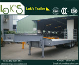 3axles Lowbed Sattelschlepper mit 8twistlock (Plattform-Abmessung 12350mmx3000mm)