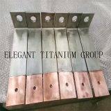 Busbar van het Koper van het titanium Beklede in Zuid-Afrika