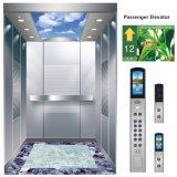 Cabine résidentielle de luxe d'ascenseur de petite pièce de machine