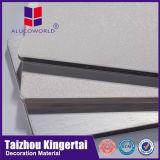 Do revestimento o mais barato da parede exterior de Alucoworld painel contínuo de alumínio material