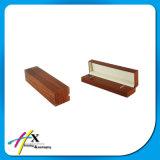 Il legno all'ingrosso della noce della Matt-Vernice ha munito il contenitore di cardini di imballaggio del regalo della vigilanza dei monili
