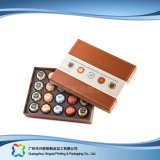 Коробка подарка Valentine кожаный упаковывая для шоколада конфеты Jewelry/(XC-fbc-014)