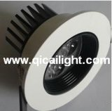 12X1w interpréteur de commandes interactif blanc DEL Downlight