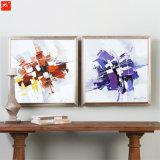 Het Met de hand gemaakte Abstracte Olieverfschilderij van 100%