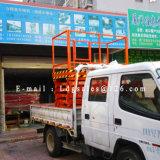 LKW eingehangene bewegliche hydraulische Scissor Arbeitsbühne (SJC0.5-9)