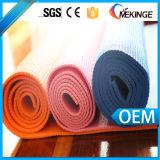 De recentste Mat van de Yoga van pvc van het Ontwerp OEM Gekleurde