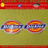 型抜きされたロゴのカスタムSticker&UVの保護ビニールのステッカー