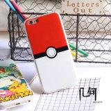 袋の球Pokemonは保護カバーデザインTPU柔らかい電話箱のPikachuのスマートな電話カバーカスタム漫画の行く