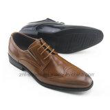 Kleid-Schuhe der Männer verwendet durch Embossing Leather/PU (Z-03)