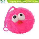 柔らかいプラスチックスパイクの鳥の球の子供のおもちゃをつけなさい