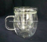 Горячая чашка боросиликатного стекла оптовой продажи цены по прейскуранту завода-изготовителя промотирования сбывания