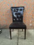 Хлебосольство гостиницы PU металла используемое кожей обедая стул (JY-F47)