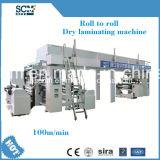 PVDC, PE, PVC, máquina de alumínio do laminador da película
