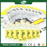 Étiquette respectueuse de l'environnement de chemise de rétrécissement de PVC pour la bouteille d'animal familier