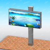 Panneau éclairé à contre-jour par DEL imperméable à l'eau de la publicité extérieure de panneau-réclame