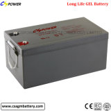 batterie de gel d'UPS de 12V 250ah VRLA pour le système solaire à la maison