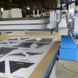 CCD 사진기 CNC 윤곽선 절단기 CNC 평상형 트레일러 절단기