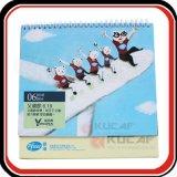 Calendario de encargo del escritorio/de pared para Gifts Company