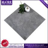 Foshan 공장 검정 색깔 지면을%s 시골풍 사기그릇 도와