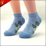 Melhor Qualidade Mulheres Moda Jacquard Socks Atacado