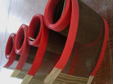 PTFEの上塗を施してあるガラス繊維ファブリック網のコンベヤーベルト