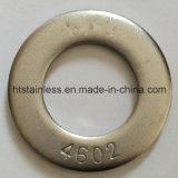 Rondelle plate de Hastelloy DIN125A