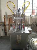 Machine de remplissage semi-automatique d'huile de palmier