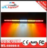 """31.5 """" 30 LED 30Wの高輝度トラフィックの顧問のストロボのライトバーキット"""