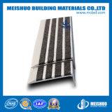 Semelle d'escalier antidérapage en aluminium flairant pour l'opération de marbre d'escalier