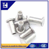 Rivets plats en aluminium de tête de Chine