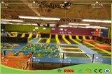 トランポリン競技場、バスケットボールたがが付いている結合された自由なデザイントランポリン公園