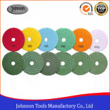 100mm Diamond Dry Marble Polishing Pad para Stone