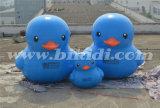 Luft feste Belüftung-große aufblasbare Ente für Förderung K2085