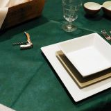 薄板になる印刷のSpunbondの非編まれたテーブルクロス