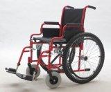 Manual de acero, nilón, sillón de ruedas, plegable (YJ-017)