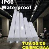 lámpara impermeable de la Tri-Prueba de la luz LED de los 3FT LED con IP66