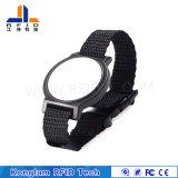 Wristband de nylon portátil da tela de seda RFID