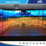 Afficheur LED d'intérieur polychrome de P3.91mm pour des projets de location d'Afficheur LED