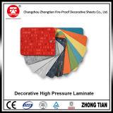 Hoja del laminado HPL del compacto del revestimiento de la pared