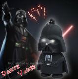 Шкентель СИД Keychain Darth Vader черноты света Keyring звездных войн