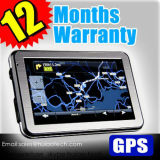 "2017 Factory OEM Car Portable GPS Navigator Device com 5.0 ""Touch Screen, AV-in, Bluetooth, Transmissor FM, GPS europeu, Tmc, ISDB-T TV Função"
