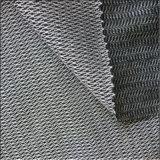 Tela que aplica con brocha Napping hecha punto deformación de la pieza inserta Weft que interlinea para el uniforme del juego