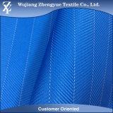 PU beschichtete Polyester-Herringbone Jacquardwebstuhl-Oxford-Gewebe 100% für Beutel
